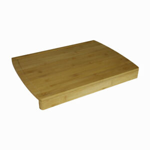 Large Bamboo Pastry Board 45cm Food Cutting Wooden Chopping With