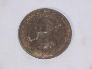 Medaille-London-1851-Queen-Victoria-et-Prince-Albert-Salon-industrie-interna