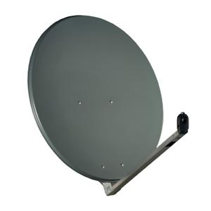 Gibertini-Sat-Antenne-100-cm-Alu-Satellitenschuessel-Schuessel-Spiegel-Anthrazit