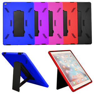 Heavy-Duty-Hybrid-Shockproof-Armor-Case-Cover-for-Apple-iPad-Pro-12-9-034-Tablet