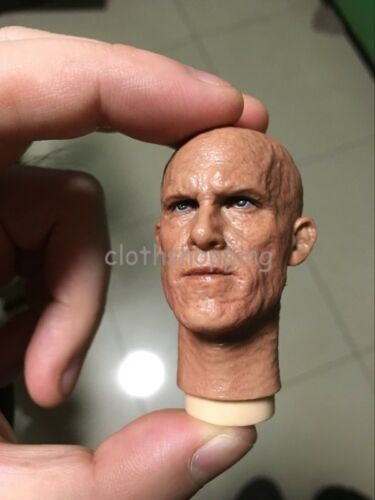 1//6 Scale Deadpool Ryan Reynolds Burned Head Sculpt With Mask /& Double Pack Toys