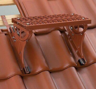 Baustoffe & Holz AnpassungsfäHig Trittflächenset Farbig Dachtritt Trittflächen Set Rot Braun Schwarz 80cm