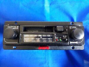 AUTORADIO Vintage d'epoca AUTOVOX FM e Cassette TESTATA e FUNZIONANTE con SLITTA
