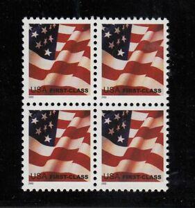 2002-FLAG-Sc-3620-block-of-4-MNH-low-printing