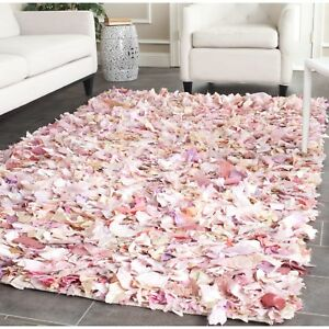 Details About Safavieh Hand Woven Chic Pink Area Rugs Sg951p