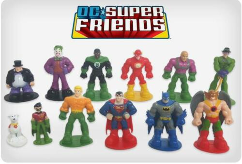 Figures Super Friends Cake Toppers