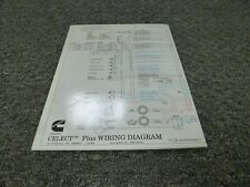 cummins n14 celect plus engine wiring harness 3973680 rev 00 for ISM Cummins Engine Diagram 1999 2000 cummins n14 celect plus diesel engine electrical wiring diagram manual