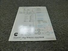 cummins n14 celect plus engine wiring harness 3973680 rev 00 for Cummins N14 Fuel System 1999 2000 cummins n14 celect plus diesel engine electrical wiring diagram manual