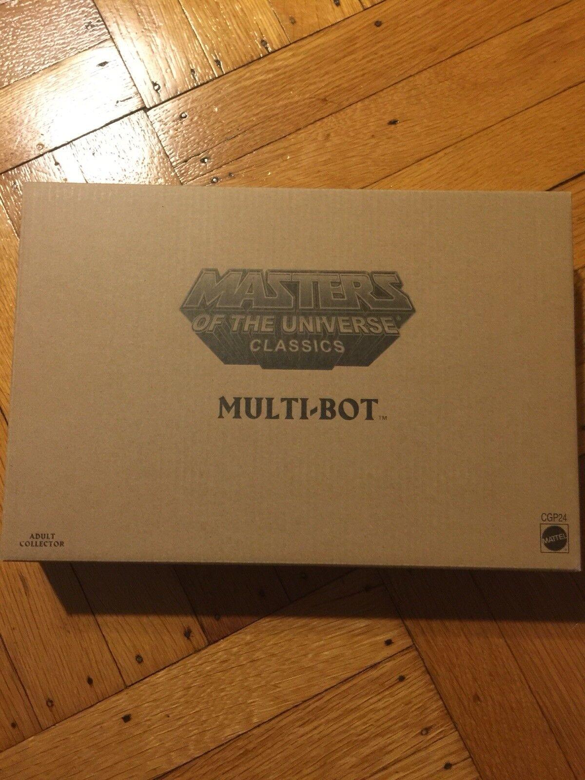 MULTI-BOT MIB Masters of the Universe Classics MOTUC MOTU He-Man multibot