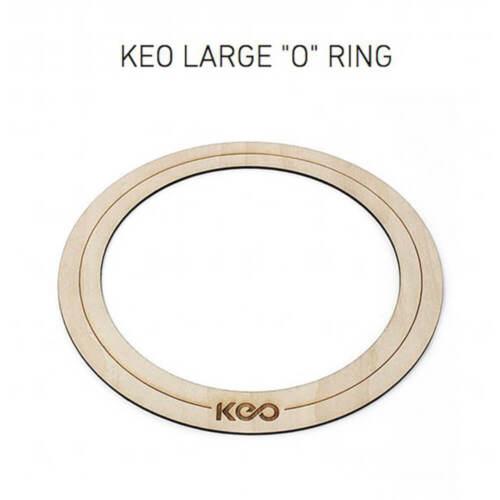 Large KEO Percussion KEO-O-R-L Bass Wood O-Ring