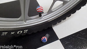 RRC-USA-American-Flag-BMX-Muscle-Bike-Freestyle-Bicycle-Dice-Valve-Caps