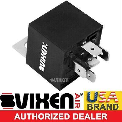 Vixen Air 5-PIN Relay 40A//12V for Horns//Compressors//Alarms//Fog Light VXA7555
