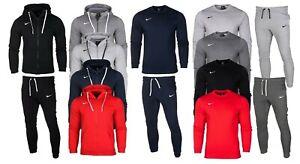 Nike-Da-Uomo-Pieno-Tuta-Sportswear-Felpa-Con-Cappuccio-in-Pile-separate-pantaloni-pantaloni-sportivi