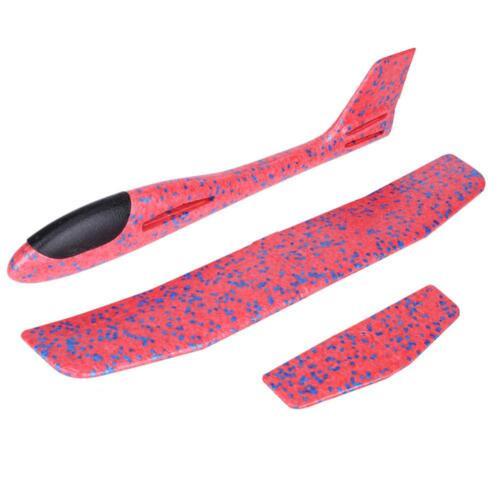 2Types EPP Foam Hand Throw Airplane Outdoor Launch Glider Plane Kids Toy Gift