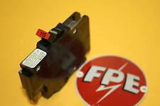 Federal Pacific 15 Amp Single Pole Thin Stab Lock Breaker Nice
