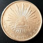 1901 ZACATECAS F.Z. MEXICO SECOND REPUBLIC Peso KM# 409.3 SILVER Nice Details!
