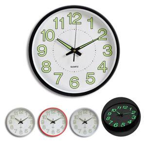 12-039-039-Wall-Clock-Glow-In-The-Dark-Silent-Quartz-Indoor-Outdoor-white