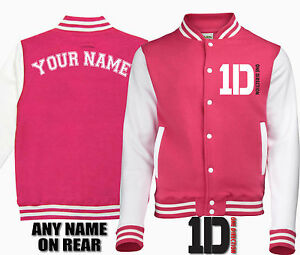 One-Direction-1D-enfants-veste-de-baseball-varsity