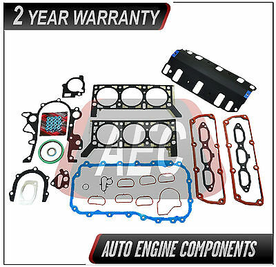 Fits 04-10 Chrysler VW 3.8L Head Gasket Set Bolts Kit Pacifica TC Caravan Routan