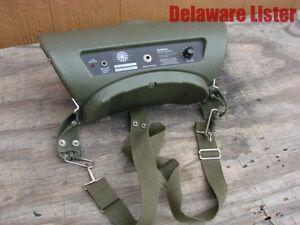 US-Army-Military-Radio-Field-Audio-Loudspeaker-Portable-Loud-Speaker-Model-360