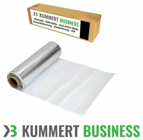 Alubutyl Dämmmatte Anti Dröhn Matte DSM Bitumen-Ersatz 25 x 400 cm PKW Neu