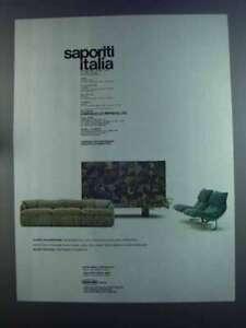 1982 Saporiti Italia Ad - Sofa Confidential, Armchair