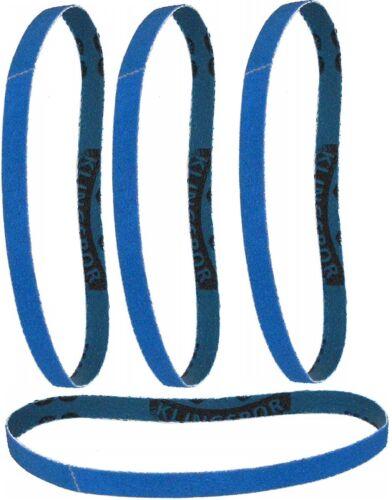 25 KLINGSPOR Schleifband 10x330 mm Auswahl Schleifbänder f.Bandfeile VA//Stahl