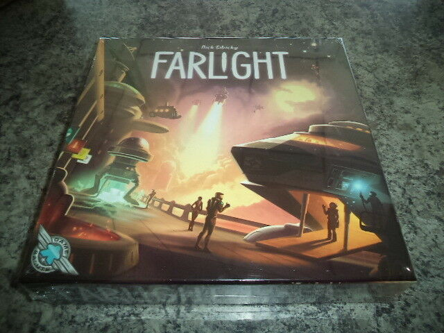 Farlight - Game Salute Games Space Sci-fi Board Game New