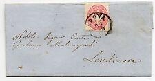 ANTICHI STATI 1864 LOMBARDO VENETO 5 SOLDI PADOVA 24/5 D/6488