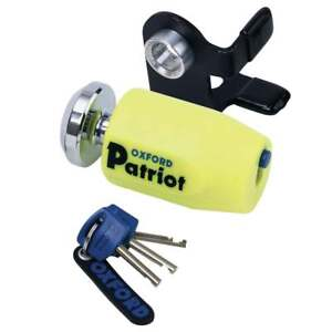 Oxford-Patriot-Thatcham-Approved-Motorcycle-Motor-Bike-Disc-Lock-With-Bracket