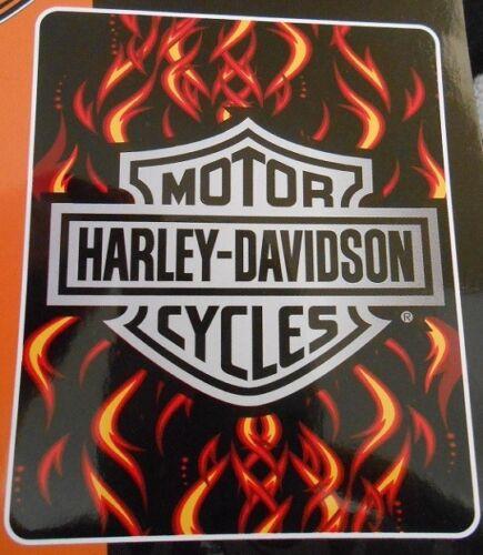 New 54x68 Harley Davidson LARGE Chrome Fire Bath Beach Towel Gift Motorcycle NIP