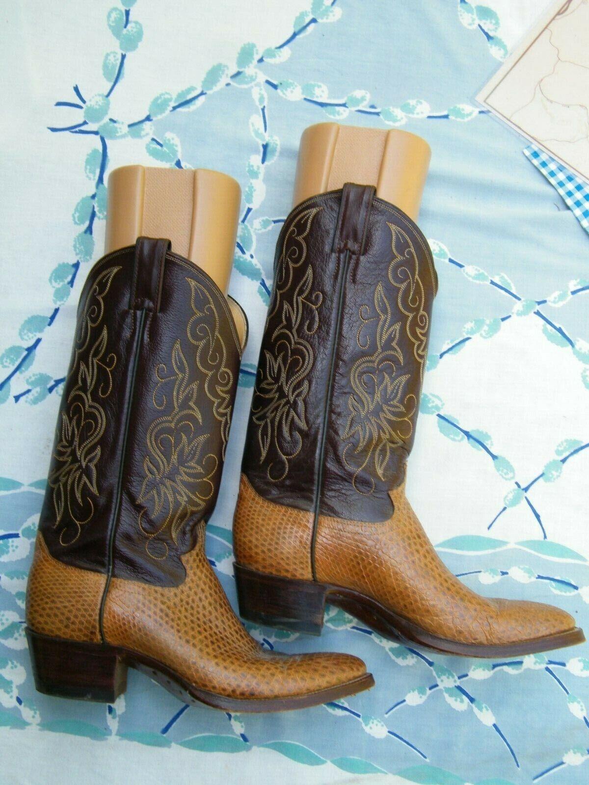 0380c13f6fe Womens Justin Alligator Alligator Alligator or Snake Boots 14 High ...