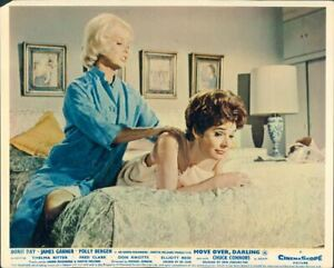 MOVE OVER DARLING DORIS DAY POLLY BERGEN LOBBY CARD