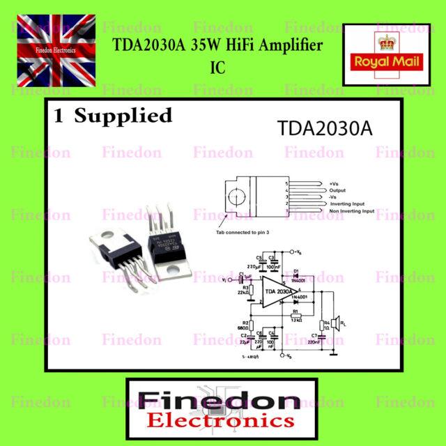 TDA2030A Audio Power Amplifier IC UK Seller