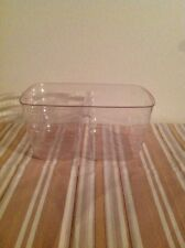 Longaberger Two-Way dived Tea basket Protector w// Lid #40910 NEW