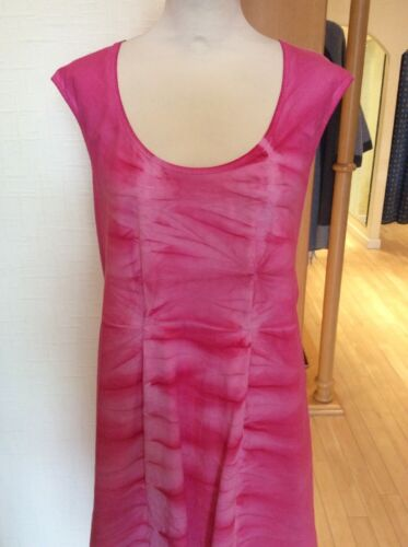Dress Size £45 Tie Adjustable Ruching With £114 Now Dye Bnwt Latte Pink Rrp 14 x6d5wxUS