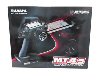 Sanwa MT-4S 2.4G /w Three Receiver  RX-472/ RX-481 /RX-37W