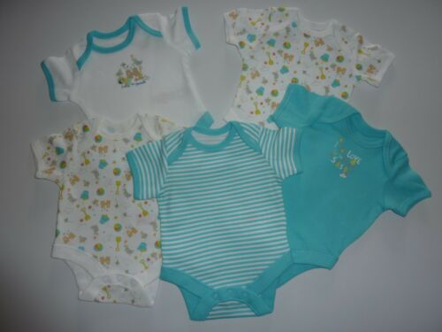 SEASIDE Short Sleeve Bodysuits Size First Size up to 7.5lbs // 3.4kg
