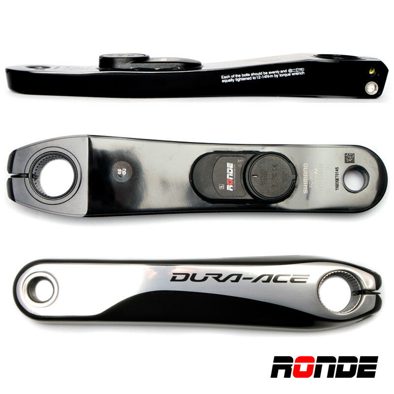 Ronde Cycling Power Meter Sensore RPower Crank Arm Shimano DuraAce 9000 ANT