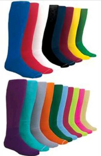 Kids X-Small Youth T-Ball Solid Color Football Socks Sock Size 3-5