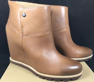 3afb75e4a73 UGG Australia AMAL Chestnut LEATHER SHEEPSKIN 3