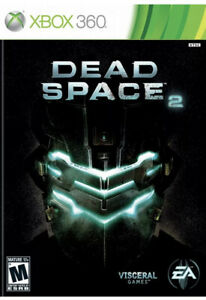Dead Space 2 Xbox 360 Disc 1 & 2 game discs only 16y