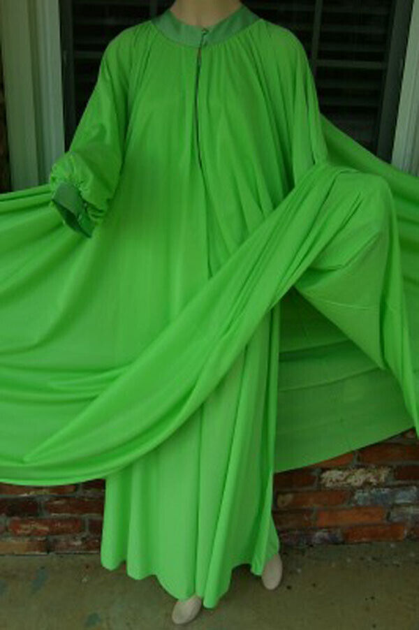 """Vintage LUCIE ANN 306"""" Sweep Dressing Gown or Pei… - image 2"""