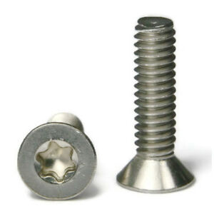 Torx-Flat-Head-Machine-Screw-Stainless-Steel-Screws-4-40-x-3-8-034-QTY-100