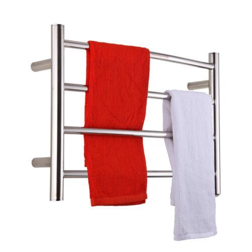 sharndy etw29 wall mount electric towel warmer heated towel rail polish - Towel Warmer Rack