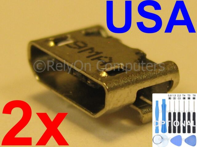 3X USB Charging Port Data Sync Power Jack for ASUS Transformer Book T100HA USA