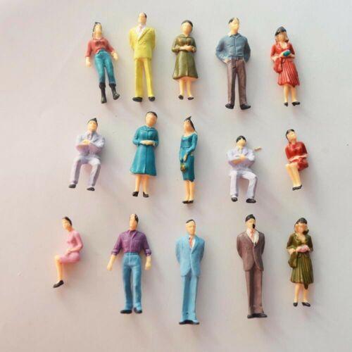 Échelle 1:50 Architecture peint modèle mixte Figures People Packs de 25//50