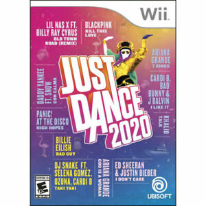 Just-Dance-2020-Nintendo-Wii-Brand-New-Factory-Sealed