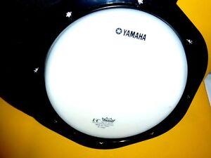 """Neuf Avec Case Yamaha Practice Pad Ux 8"""" Drum Head Par Remo-afficher Le Titre D'origine"""