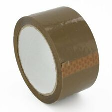 6 Rolls BROWN TAPE ~ ~ ~ ~ selotape packing cellotape sellotape packing boxes